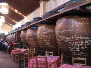 Chinchón Mesón Cuevas del Vino